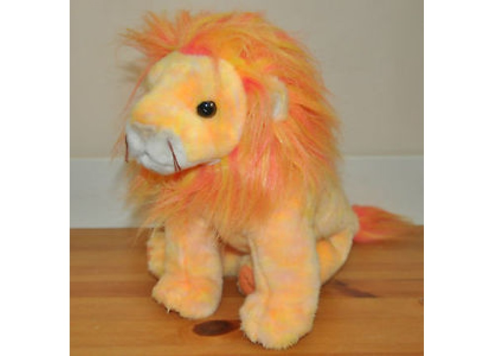 TY Beanie Bubbies Plush Soft Lion Bushy 2000 Toy