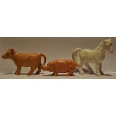 Britains Ltd Cow, Pig & Horse