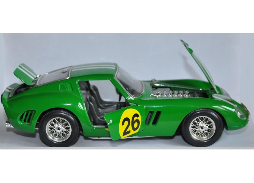 BBurago 1962 Ferrari 250 GTO #26 Le Mans Rare!!
