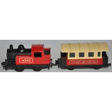 Matchbox Steam Train and Carriage