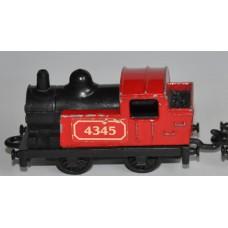 Matchbox Superfast Diesel Locomotive Shunter Train - No 24 (1978) - with Wagon