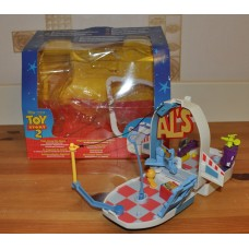Toy Story 2 Take Along Toy Store Spaceship Action Set Plastic Boxed Kids Toys