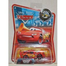 Disney Pixar Cars Lightning McQueen With Cone Final Lap BN Diecast 1:55 Kids Toy
