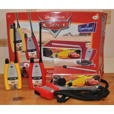 Disney Cars Base Station Supercharged All 3 Units Can Be Used At The Same Time