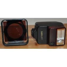 Canon Speedlite 277T Flash & Lens Filter Cokin Cromofilter Camera Accessories