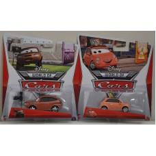 Disney Pixar Cars Cora Copper & Cartney Carsper BNIC 1:55 Scale Diecast Kids Toy
