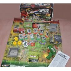 Milton Bradley Hasbro G I Joe Commando Attack Board Game With Missile Launcher