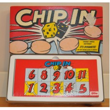 Chip in Board Game 1988 By Hiron Games Made In England Boxed & Instructions