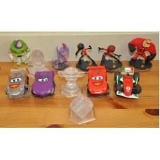 Disney Infinity Incredible Cars Buzz Lightyear Randall Crystal Cube Sets Bundle
