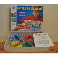 Mb Games Frustration Board Game With Instructions Boxed 1994 Vintage Game