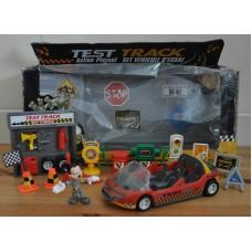 Disney Mickey Mouse Test Track Action Playset Bundle Kids Toys