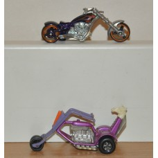 Hot Wheels & Matchbox Chopper Bundle The Stingeroo No 38 1972 Diecast Bikes Toys