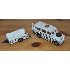 Corgi Land Rover 109 WB & Trailer Safari Diecast Metal Model Vintage Kids Toy
