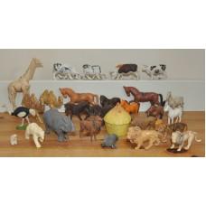 Farm & Zoo Animals and Miniature Mostly Britains Bundle Vintage Kids Toys