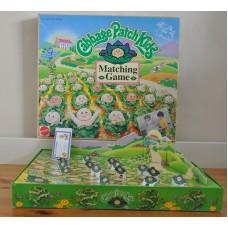Cabbage Patch Kids Matching Game Mattel 1995 Boxed Vintage Game