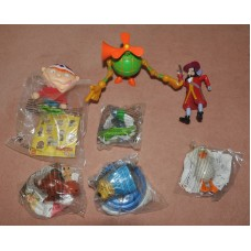 McDonalds Happy Meal Mixed Disney & Other Figures Bundle Collectibles Toys