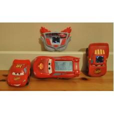 Disney Cars Lightning McQueen Electronic Games + Talking Car Bundle Kids Toys