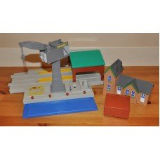 Playmobil Figures Tractor and Trailer Animals Fences Bundle Kids Toys