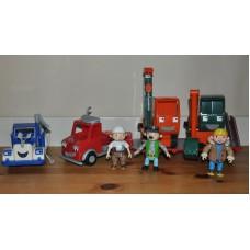 Bob The Builder Figures Gripper Grabber Packer Dodger Vehicles Bundle Kids Toys