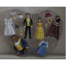 Disney Beauty & The Beast Belle Polly Pocket Figures & Accessories Playset Toys