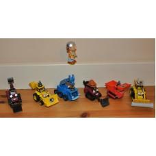 Bob The Builder Figure Lofty Benny Muck Scoop Vehicles Diecast Bundle Kid Toys