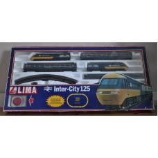 LIMA Inter City 125 British Rail Model OO Gauge Train Set Loco Coach not Hornby