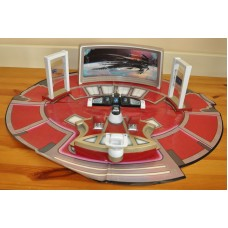 Star Trek USS Enterprise Bridge Room Playset With Three Figures Bundle Kids Toy