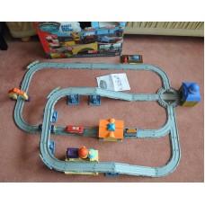 Chuggington Interactive Railway Playset Pete Brewster Wilson Trains Bundle Toys