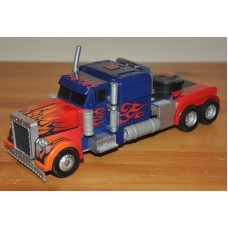 Transformers Robot Powered Machines Stealth Force Optimus Prime Truck Kids Toy