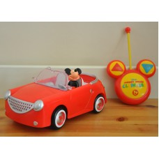 Mickey Mouse Remote Control Red Car Kids Toy Film / Disney Character
