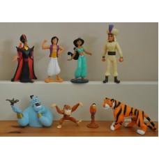 Disney Aladdin Jatar Jasmine Genie Abu Lago Rajah Bundle Of Figures Kids Toys