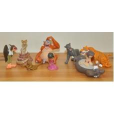 Disney Jungle Book Mowgli Vultures Louie Shanti Kaa Shere Figures Bundle Toys