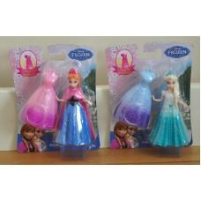 Disney Frozen Princess Elsa & Anna Magiclip Magic Clip Dolls Set BNIC Bundle Toy