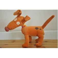 Rugrats Spike The Dog By Viacom International Gosh 2001 Vintage Plush Soft Toy
