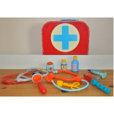 Kids Doctor Nurse Carry Case Medical Mixed Kit Playset Dress Up Role Kids Toys