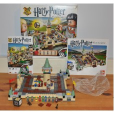 Lego 3862 Harry Potter Hogwarts Game Complete with All 9 Micro Figures Boxed Toy