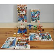 Lego Pirate Plank 3848 & Robo Champ 3835 Games Sets Boxed Kids Games Bundle