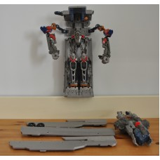 Transformers Optimus Prime Trailer 4 Truck Spares Parts 4 Repairs Only Toy